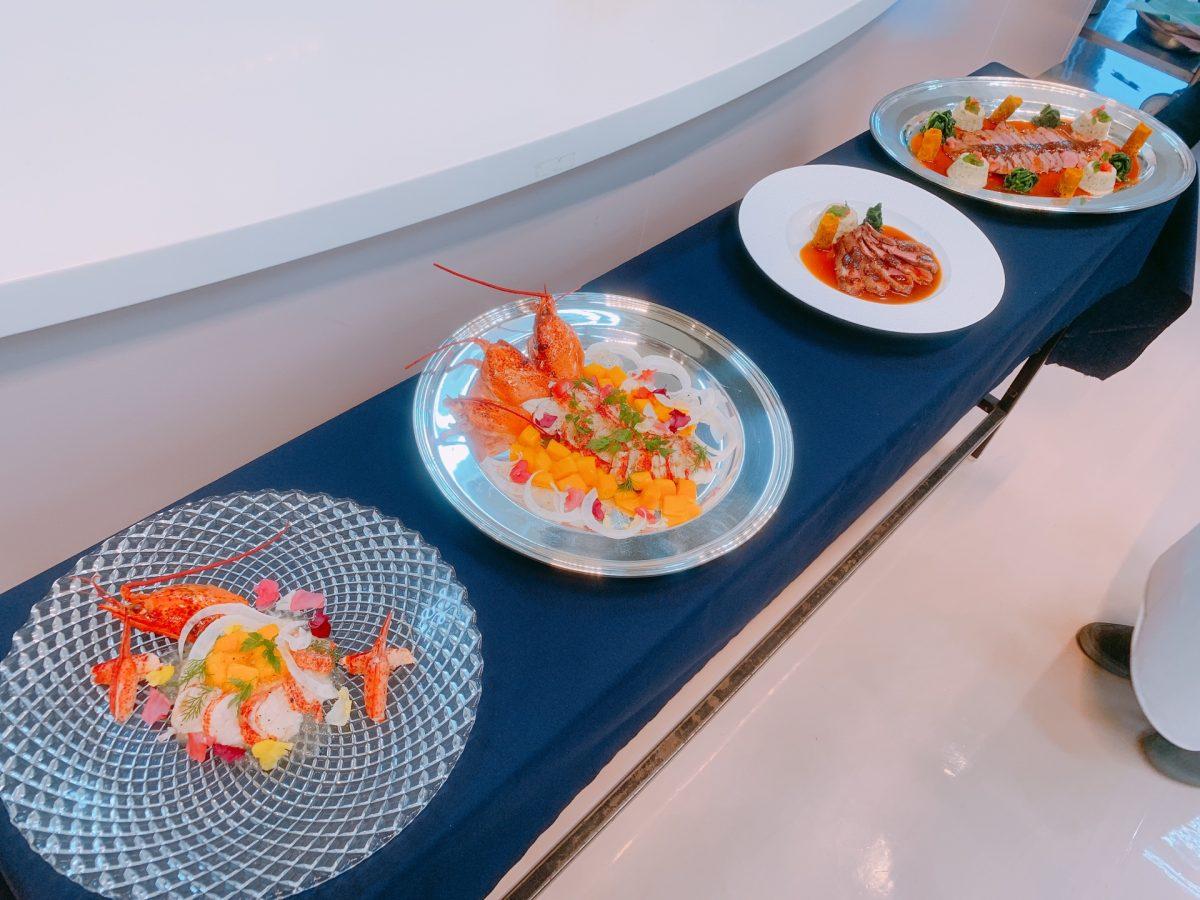 東郷記念館の坂本実継総料理長による特別講義が行われました