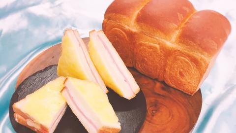 クロックムッシュ&食パン
